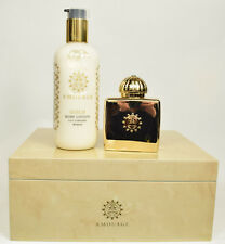 Gold Woman by Amouage  Perfume 100ml EDP Spray + 300ml Body Lotion GIFT SET