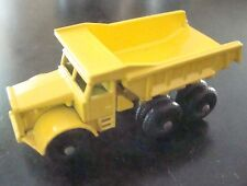 Matchbox Regular Wheel 6C Euclid Truck Yellow Grille 1964