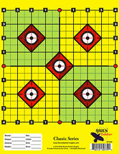 100 PACK: PAPER SHOOTING SNIPER TARGETS: CLASSIC SERIES SCOPE-SIGHTING T-OO9
