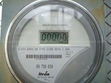 Zero Reset Itron Centron Watthour Electric Meter C1s C1sr Cl200 Amp 240v Fm2s