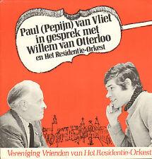 """PAUL VAN VLIET - In Gesprek Met Willem van Otterloo (1969 FLEXI SINGLE 7"""")"""