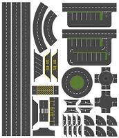 46mm Tarmac Effect Road Layout Kit, suit N Gauge Hornby etc. Self Adhesive Vinyl