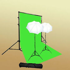 Photo Studio Video Light Lighting ChromaKey Support Kit