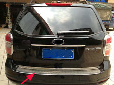 Steel Rear Bumper Protector Cover trim for Subaru Forester 2014-2016 Outer