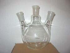3 Neck Flat Bottom Flask Fbf 2440 1000ml Angled