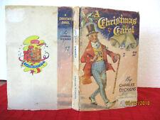 John Mystery Pocket Book A CHRISTMAS CAROL circa1939 HC vintage AUSTRALIAN