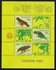 Indonesia 1980 Native Birds S/S Sc# 1106A NH
