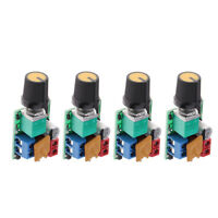 4 Pcs Small PWM DC 3V-35V 5A Motor PWM Speed Controller Speed Control
