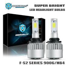 IRONWALLS Car 9006 HB4 LED Headlights Conversion Kit 2000W 300000LM Bulbs 6500K