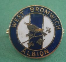 West Bromwich Albion Club Crest Football Brooch Pin Badge Maker Coffer
