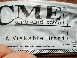 CME Wire & Cable #8awg 19 Stranded QI THHN/THWN-2/MTW Building Wire Brown /100ft