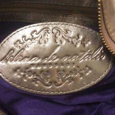 HELENA DE NATALIO SOFI large SHOULDER crossbody metalic LEATHER handbag bag H1