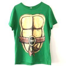43c2bc277ca Teenage Mutant Ninja Turtles Mens Graphic Tee SZ MEDIUM Green Spirit  Halloween
