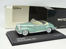 WhiteBox 1/43 - Mercedes 300 SC Roadster Verte 1956