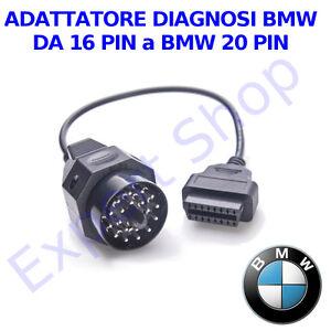 cavo BMW 20 pin ADATTATORE DIAGNOSTICO AUTO DIAGNOSI DA 16 A 20