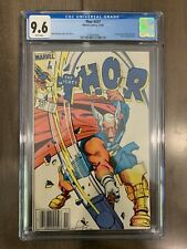 Thor #337 1983 MARVEL Comics 1st Appearance of Beta Ray Bill Newsstand CGC 9.6