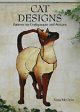 Stained Glass Pattern Book - Cat Designs for Craftspeople and Artisans