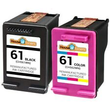 2-PK #61 Black & Color Ink Cartridges for HP Deskjet 1000 1050 1051 2050 Series