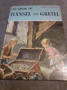 My Book Of Hansel And Gretel 1960 Vintage Book