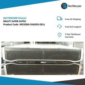 DELL MD3260 CHASSIS 2 X PSU 2 X FAN 60 X LFF DRIVE BAYS