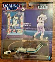 Edgar Renteria, Florida Marlins MLB 1999 Starting Lineup Figure & Baseball Card
