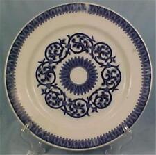 Antique Ceylon Flow Blue Plate Petrus Regout Co Holland Sphinx Symbol Dinnerware