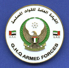 Joint Aviation Command United Arab Emirates UAE GHQ Armed Forces Challenge Coin