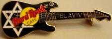 Hard Rock Cafe TEL AVIV 1996 Star of David BLACK Strat Guitar PIN - HRC #30302