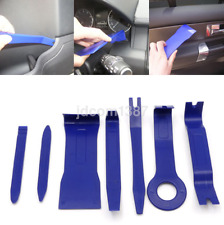 Practical 7Pcs Blue Automobile Audio Player Dismantle Installation System Tool