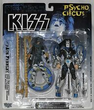 KISS Psycho Circus Ace Frehley with stiltman MOC McFarlane Toys 1998