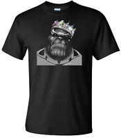 Thanos Notorious Infinity War Men's Black T-Shirt