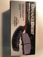 Disc Brake Pad Set-Brake Best NAO Pad Front Brakebest D1273