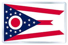 OHIO USA FLAG FRIDGE MAGNET SOUVENIR IMAN NEVERA