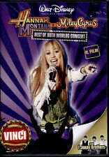 HANNAH MONTANA E MILEY CYRUS best of both worlds  - DVD NUOVO E SIGILLATO,