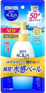 Rohto Mentholatum Skin AQUA UV Super Moisture Gel 140g SPF50+PA++++ Waterproof N
