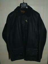 barbour beaufort jacket waxed cotton blu  giacca + trapunta  c40-102 m