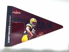 ROBERT FERGUSON 2002 Fleer SCHOOL COLORS Game Used TEXAS A&M Jersey PATCH