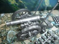 MARX RE-ISSUE REV WAR NON-FIRING CANNON W/Acc's and Ammo Sprue