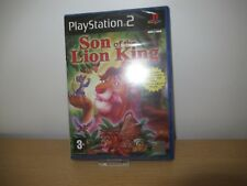 Ps2 / Sony PlayStation 2 Game - Son of The Lion King Boxed