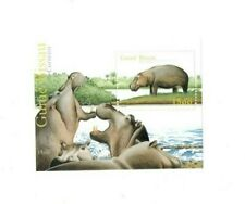Guinea-Bissau - Hippopotamus - Stamp Souvenir Sheet - MNH