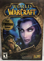 World of Warcraft DVD VIDEO GAME Windows Mac With Manual 2004