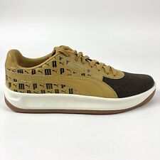 Puma GV Special Lux Guillermo Vilas Mens Brown Shoes Size 9 Leather 368428 01