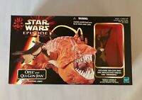 Brand New In Box Hasbro Star Wars Episode 1 Opee and Qui-Gon Jinn Figures