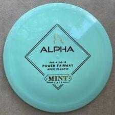 Mint Discs Alpha - NEW - 3rd Run - Apex - 168G - Disc Golf