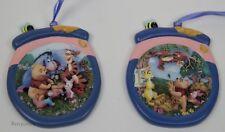 Bradford Editions Disney Winnie the Pooh 2 Limited Honey Pot Ornaments