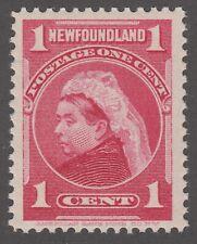 Newfoundland # 79 Mint Never Hinged Very Fine single