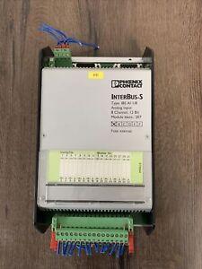 phoenix contact interbus IBS AI I/8