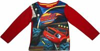 Blaze and the Monster Machine Race Club Long Sleeve T Shirt