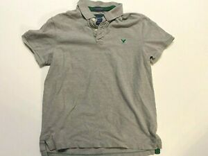 American Eagle Short Sleeve Golf Polo Shirt Men's 2XL