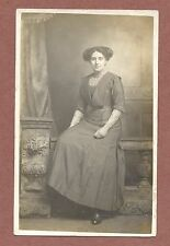 Young woman,  RP, H. Blackmore,  Paragon Arcade, Hull, embroidered blouse  RK105